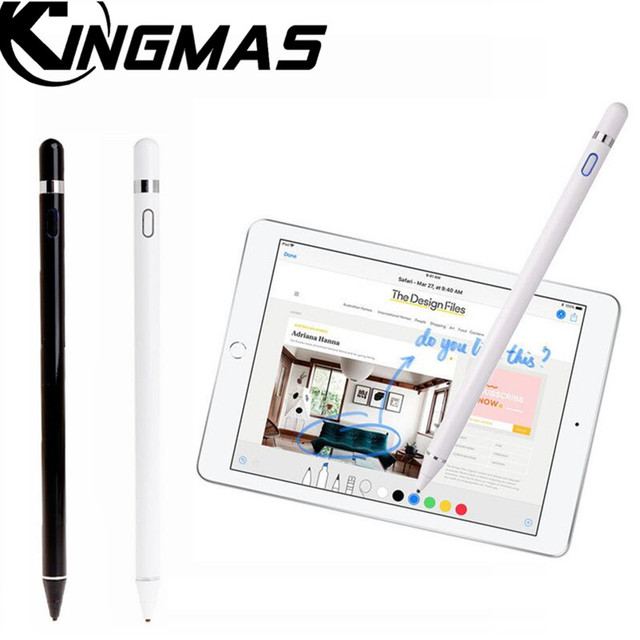 competitive price b705d 912e1 US $29.99 |For Apple Pencil, KINGMAS new stylus capacitance touch Pencil  for apple ipad For iPhone XS MAX with retail Packaging-in Mobile Phone  Stylus ...