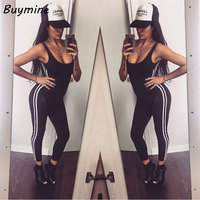 Sport Jumpsuit 2016 Rompers Womens Jumpsuit Sexy Bandage Bodysuit Open Back Enteritos Mujer Bodysuit Outdoor Sportswear