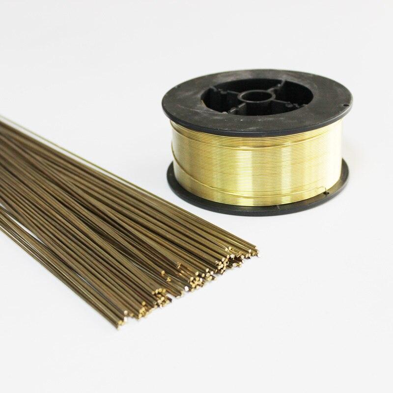 Tig latón soldadura barras de soldadura de gas de alambre de soldadura de reparación de chapa redonda de 0,8mm 1mm 1,6mm mm 2mm 2,5mm 3mm 4mm 5mm 6