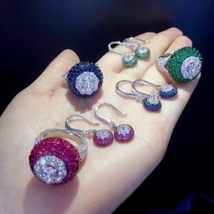 fine jewelry set ring and hook