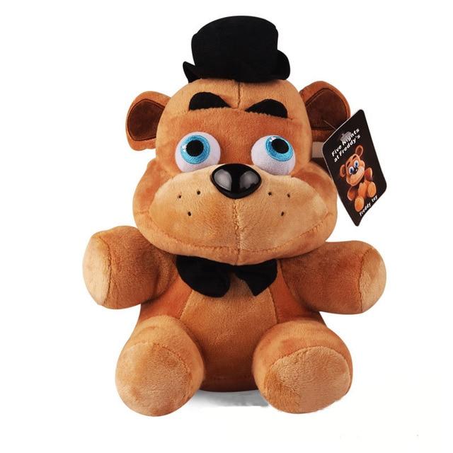 1 unids 25 cm de peluche de juguete de peluche de Oro de Cinco Noches En Freddy Freddy Mangle chica bonnie foxy Felpa y de peluche Juguetes de la Muñeca