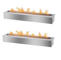 Inno living fire 48inch 120CM  outdoor fire pit bioethanol burner