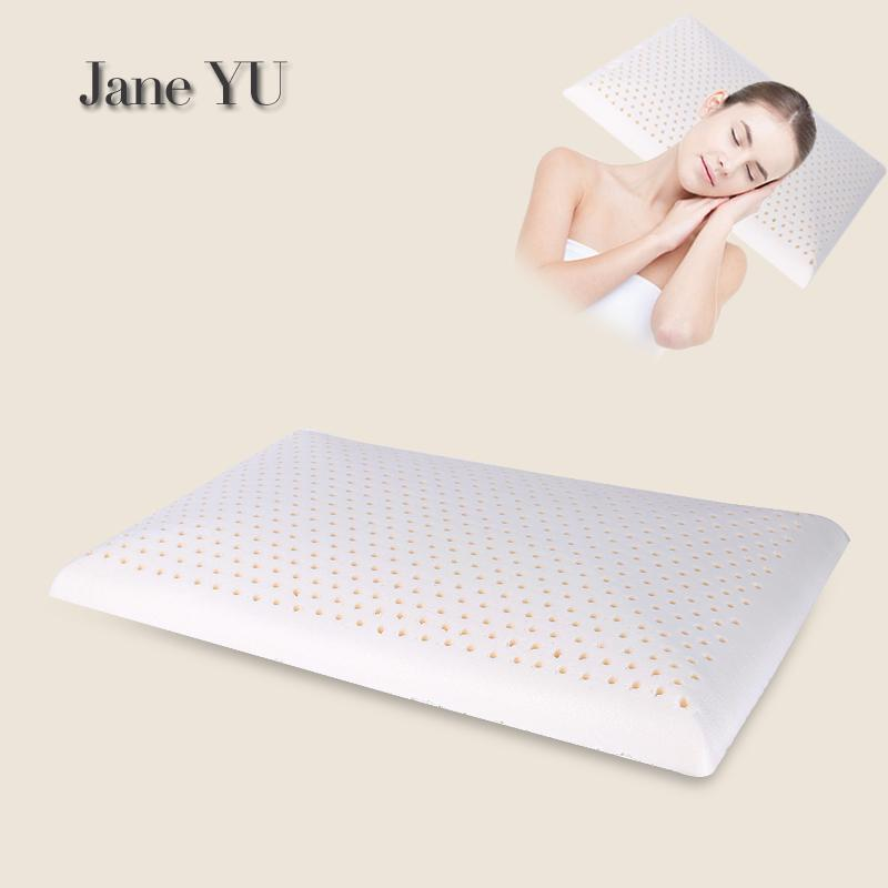 JaneYU Ultrathin Latex Pillow For Adult Short Pillow Natural Rubber Low Pillow Core Single Cervical Spondylosis Child Pillow