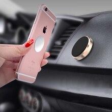 Sostenedor del teléfono del coche del teléfono en magnético coche de 360 grados de teléfono soporte para iPhone Samsung celular Universal de montaje de teléfono
