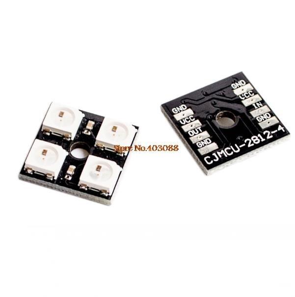 Integrated Circuits Ws2812b-4 5v 5050 Rgb Led Lamp Panel Board 4-bit Precise