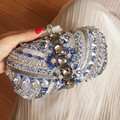 Women Luxury Handmade Evening Bag Bride Fashion High Grade Rhinestone Handbag Star Style Dinner Bags