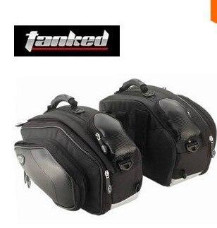 1 set Genuine motorcycle tank bag side luggage motorcycle waterproof saddlebags alforjas moto alforge backpack