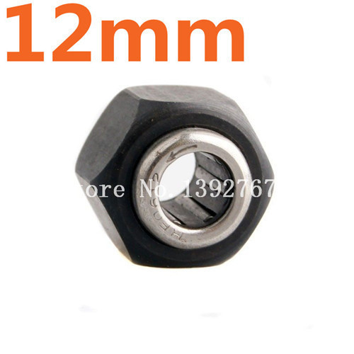 HSP R025 12mm*12mm*6.5mm  Hex Nut One way Bearing For VX 18 16 21 Nitro Engine RC Spare Parts 1/10 4WD Baja