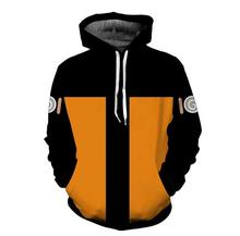 New Kids Anime Hooded Cool Naruto Uzumaki 3d sweatshirt Hoodies Men women Fashion Street Jacket Hoodie Top