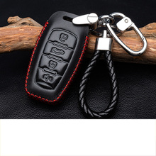 цена на Lsrtw2017 Genuine Leather Car Key Case for Great Wall H6 H2 H6 Coupe 2011-2020 2012 2013 2014 2015 2016 2017 2018