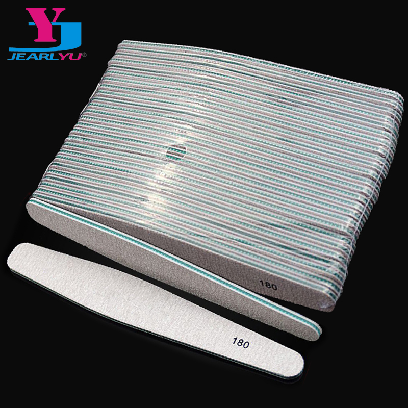 Nail Files 50x Drop Style Sanding Salon Buffer Sandpaper Grey 180/180 Nail Art Buffer Polishing File Pedicure And Manicure Tools