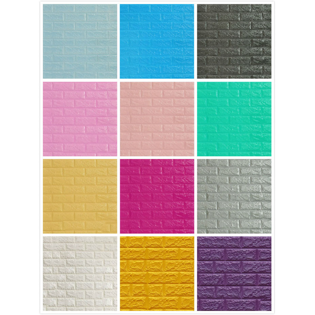 70*15CM Waterproof Foam 3D Wall Stickers Home Decor Wallpaper DIY Wall Decor Brick Living Room Bedroom Sticker Heat insulation-in Wall Stickers from Home & Garden on Aliexpress.com   Alibaba Group