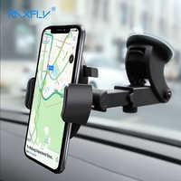 RAXFLY stabilny uchwyt samochodowy do telefonu iPhone XS Max X 8 7 Plus uchwyt na przednią szybę do samochodu Telefon uchwyt na Samsunga S9 S10 Telefon Tutucu