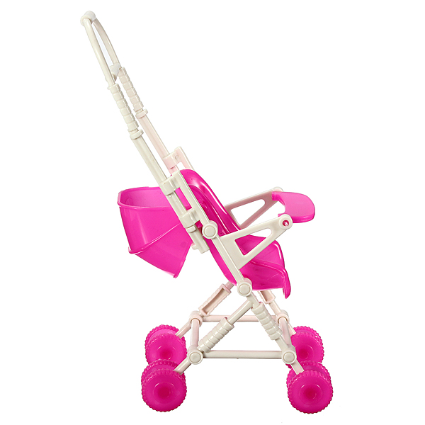 New Diy Assemble Baby Carriage Stroller Trolley Doll Furniture Happy Family For Barbie Us435