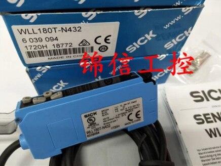 FREE SHIPPING WLL180T-N432 Fiber amplifier sensorFREE SHIPPING WLL180T-N432 Fiber amplifier sensor