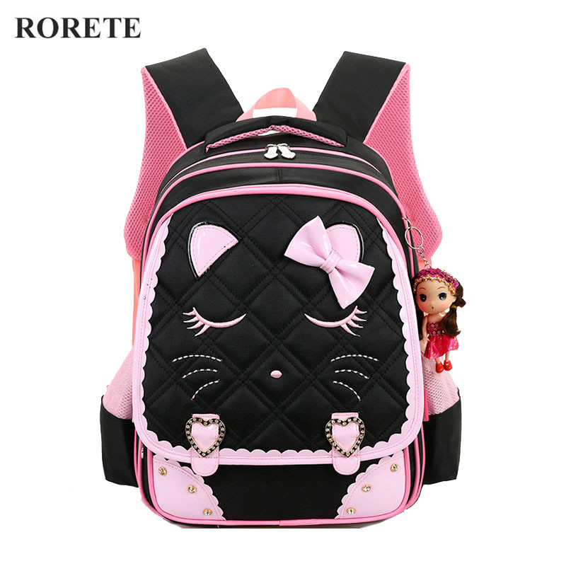 Kids Cartoon School Bags Children backpacks Waterproof Nylon girl orthopedic school bag Printing Backpacks Book Bag MochilasKids Cartoon School Bags Children backpacks Waterproof Nylon girl orthopedic school bag Printing Backpacks Book Bag Mochilas