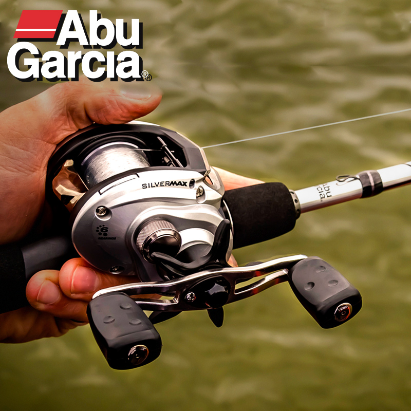 NEW 2018 Abu Garcia Brand Silver Max SMAX3 Right Left Hand Bait Casting Fishing Reel 6BB 6.4:1 207g MaxDrag 8kg Baitcasting Reel цена