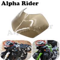 Motorbike Windshield WindScreen ABS for BMW K1200R 2005 2008 K1300R 2009 2015 Smoke Fly Screen Front Glass Airflow Deflector New