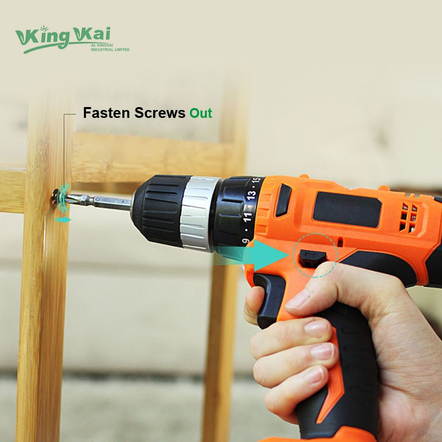Cordless Lithium Battery Electric Drill-22