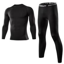 Мужская одежда для спортзала, фитнеса, спортивная одежда, быстросохнущие компрессионные костюмы, мужской набор для бега, фитнес облегающий спортивный костюм для мужчин, для бега на открытом воздухе