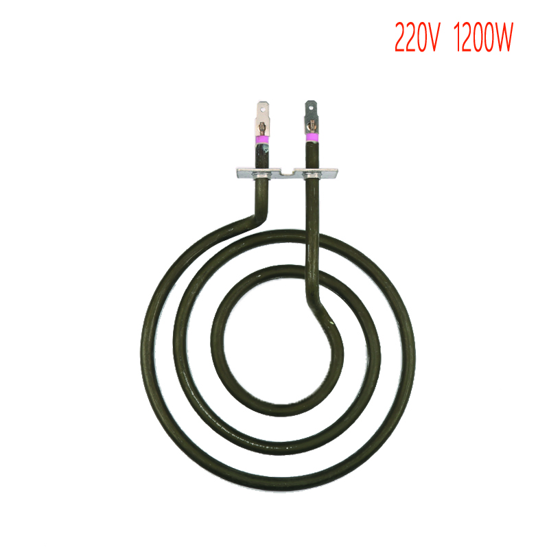 three rings mosquito coil type heating tube,3 coils electric heat pipe, stove surface burner heat element 10x1mm soft coil copper tube pipe air conditioner refrigeration systems