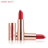 BEST PRICE EVER Brand HERES B2UTY Hot-selling Matte Lipstick Waterproof Long lasting Lip gloss Freeshipping 12 colors