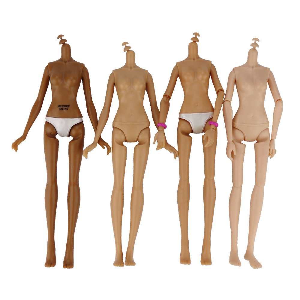 (Jimusuhutu) Original MC Doll Body Movable MC Dolls Nude Body Not For Barbie Doll DIY Accessories Kids Toy High Quality