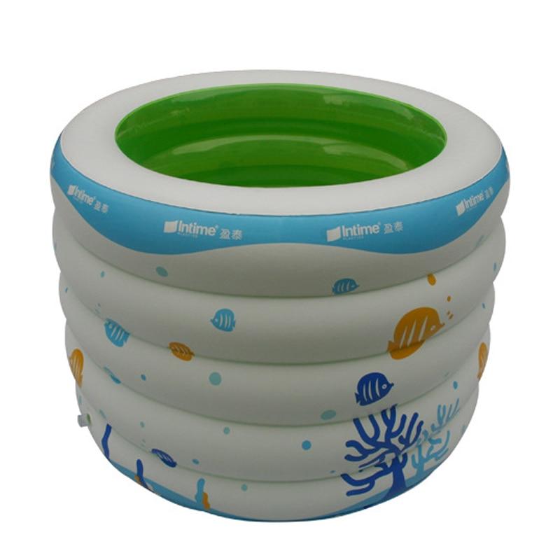 Été gonflable enfants Piscinas Babys pataugeoire ronde imprimé Zwembad plus grande Havuz piscine taille 106*75 CM