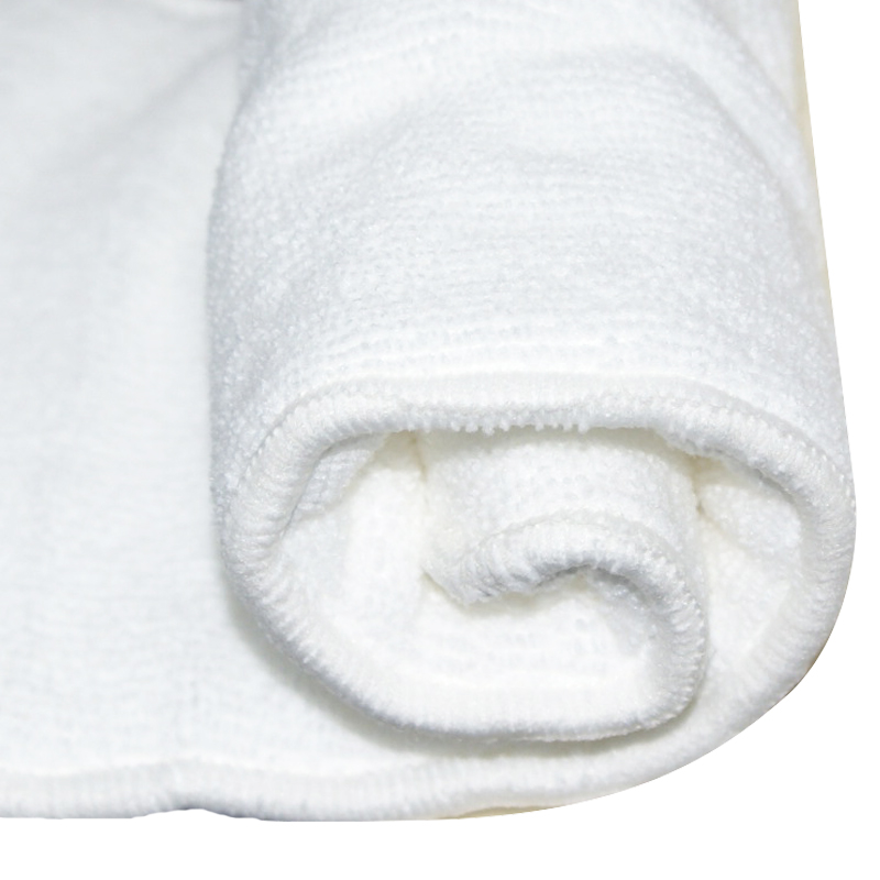 pororo white color super absorbent microfiber fabric for reusable baby cloth diaper (1 meter)
