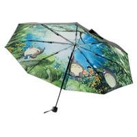 Umbrella Women Anime Sun Umbrella Black Ghibli Totoro Parasol Female Plegable Sombrillas Paraguas Umbrella Rain Women WZP165