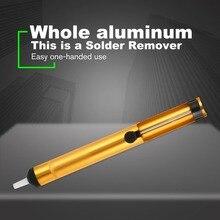 Алюминиевый металлический отпаивающий насос, всасывающий оловянный пистолет, паяльная присоска, ручка для удаления, Вакуумный паяльник, ручные сварочные инструменты