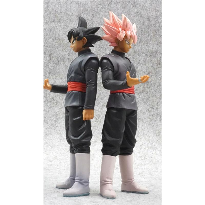 Anime Dragon Ball DBZ Super Saiyan SSJ Rose Goku Black Universe 10 Action Figure Brinquedos Toys Figurals Dolls 20cm