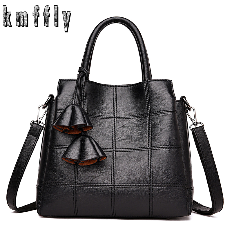 KMFFLY Brand Luxury Women Handbags Designer PU Leather Crossbody Bag Fashion Female Messenger Bags Shoulder Bag Ladies Big Totes teridiva luxury handbags women bags designer messenger shoulder bag brand ladies crossbody leather bags tote bag fashion handbag