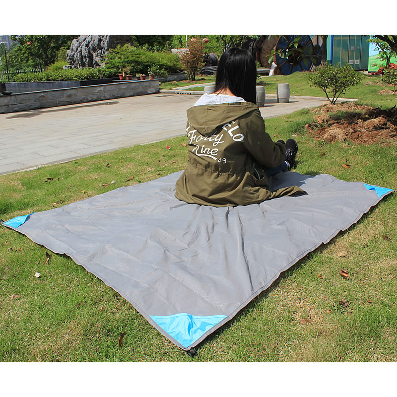 Feistel Pocket Blanket Tarpaulin Waterproof Picnic Camping Mat 140x152cm Foldable Blanket Outdoor Mat For Picnic Bay Play Mat waterproof outdoor blanket picnic beach blanket mat rug s m l