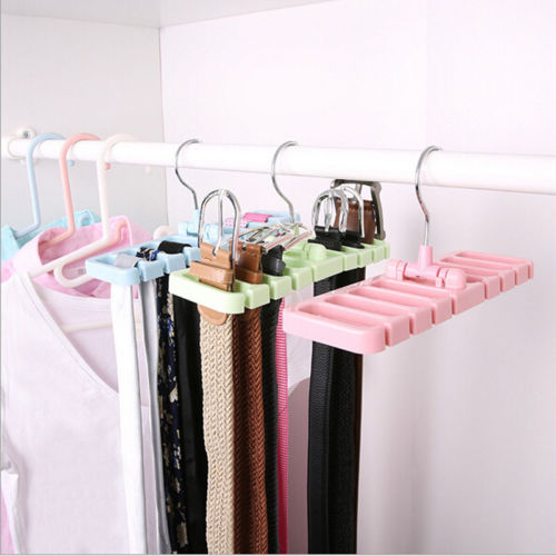Creative Magic Hangers Tie Belt Space Saving Organizer Hooks Closet Bra Bag  Hanger Holder Rack Hook Rack Beyond Hanger In Hangers U0026 Racks From Home U0026  Garden ...