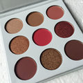 2017 NEW ARRIVAL BURGUNDY Eyeshadow PALETTE Kyshadow Kit 1 SET 9 Color iN 1 Eyeshadow Pallete