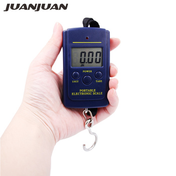 20pcs/lot Pocket Electronic Digital Scale 0.01kg 10g 40kg Hanging Luggage Weight Balance Scales 25% off