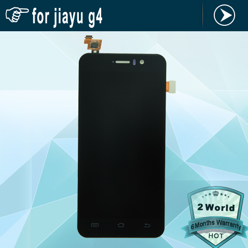 Black for Jiayu G4 LCD Display+Touch Screen Replacement Assemble For JIAYU G4 Touch Panel