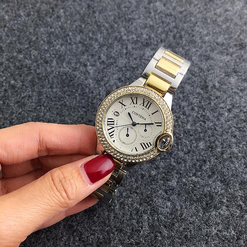CONTENA Armbånd Quartz Watch Luksus Kvinder Casual ure Fashion Rose - Dameure - Foto 5