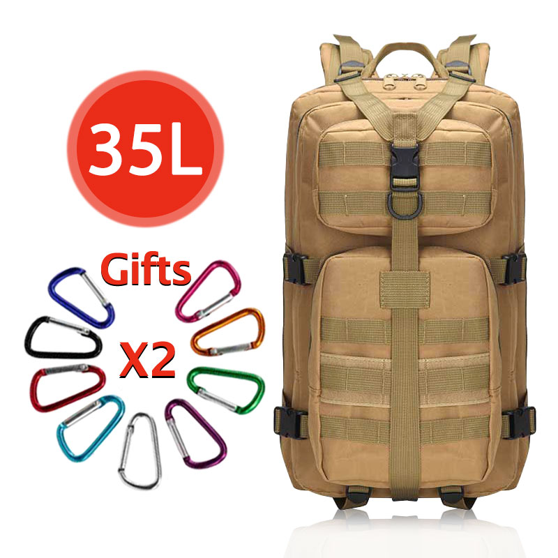 35l Men Tactical Backpack 3p Military Backpack Unisex Rucksack Outdoor Camping Hunting Backpack Sport Travel Mochila Militar Pretty And Colorful
