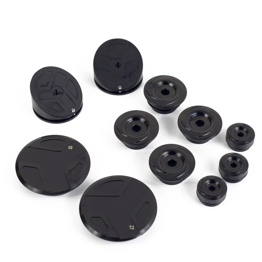 Image 4 - CNC Motorcycle Frame Hole Cover Caps Frame Plug Kit Frame For  R1200GS LC Adventure R 1200GS 2014 2018 R1250GS Adv R1250 GS 2019Covers