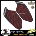 Red Anti slip sticker Motorcycle Tank Traction Pad Side Knee Grip Protector for honda cbr 250 2010 2011 2012 2013 2014 2015 2016