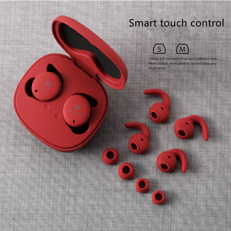 Remax WK TWS Bluetooth Earphone Stereo Mini Wireless Headset Smart Touch Control With Mic Earbuds For IPhone Redmi Airdots