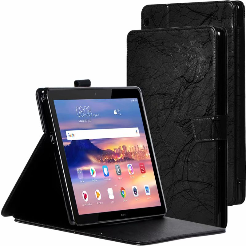 Print PU Leather Case For Huawei Mediapad T5 AGS2-W09/L09/L03/W19 10.1