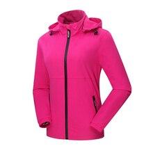 Women Softshell Fishing Jackets Outdoor Sports Qucik Dry Waterproof Coats Female Hiking Trekking Camping Brand Clothing VB014