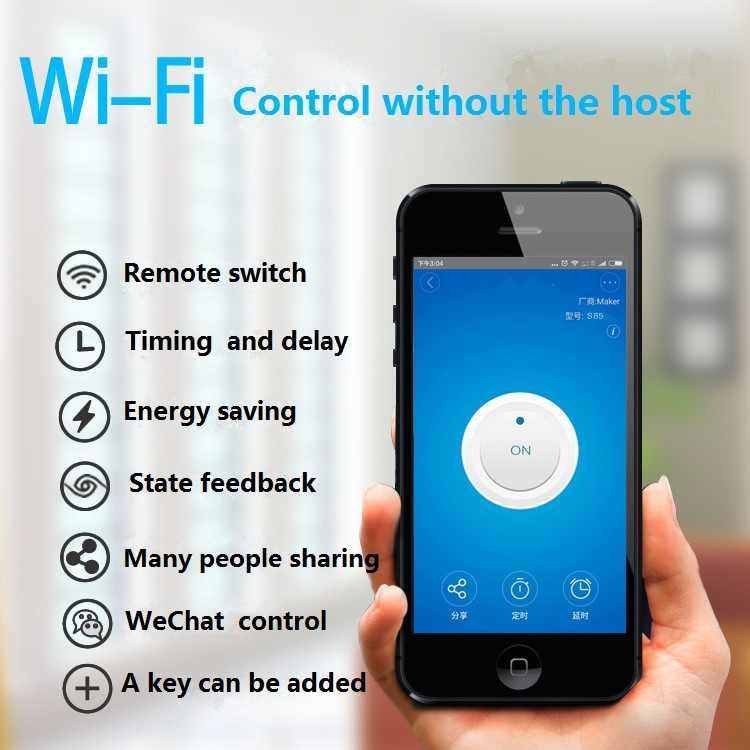 Itead Sonoff 433Mhz Sonoff RF WiFi bezprzewodowy Smart-domowy przełącznik pilot zdalnego sterowania inteligentny przełącznik czasowy sterowanie bezprzewodowe 10A