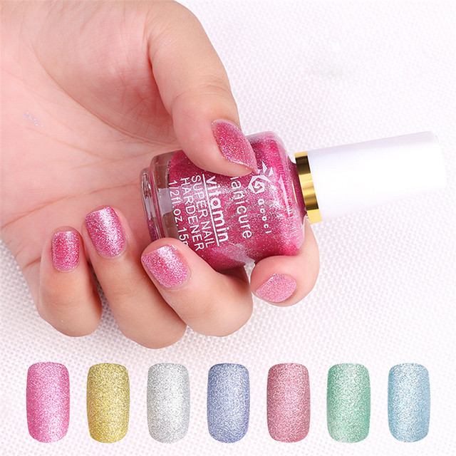 OutTop 15ml Metallic Nail Art Polish Sands Effect Shiny Metal Varnish  Manicure best seller 30 c496213d6cc