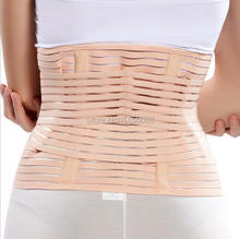 50PCS/lot Breathable Postpartum Miss Abdomen Recovery Belt Stomach Elastic Band Women Slimming Waist Belly Band Belt Shapewear