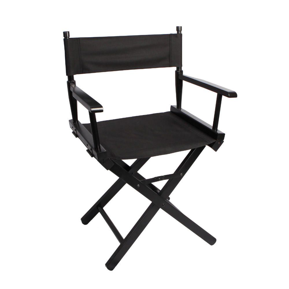 Portable makeup chair - Folding Director Chair Portable Makeup Artist Director Chair Steel Outdoor Camping Fishing Black