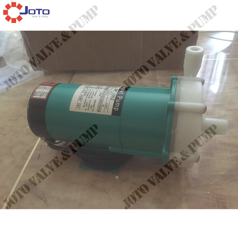 MP-20rz Magnetic Drive Pump Best Choice for Industry Magnetic Centrifugal Water Pump mp 55r china 220v engineering plastic magnetic drive pump big volume sea water pump industry magnetic centrifugal water pump